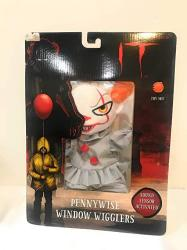 USA Magic Power Company Animated Plush Halloween Animated Window Cling Pennywise The Clown From It