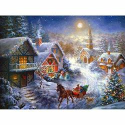 Hattfart 5D Diy Diamond Painting By Number Kits For Christmas Hut Merry Christmas C