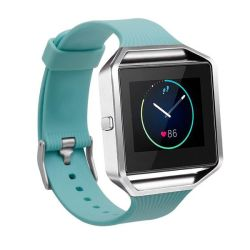 Killerdeals Silicone Strap For Fitbit Blaze S m l - Frost Green
