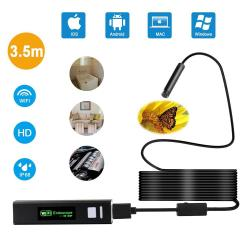 Depstech Wireless Endoscope Wifi Borescope Inspection 2 0 Megapixels HD  Snake Camera For Android And Ios Smartphone Iphone Samsu | R1086 00 |