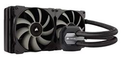 Corsair Hydro Series H115I Aio Liquid Cpu Cooler 280MM Radiator Dual 140MM Sp Series Pwm Fans Advanced Rgb Lighting And Fan Soft