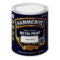 HAMMERITE Smooth White White 1 L