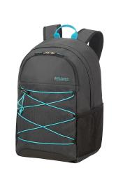 "American Tourister Road Quest Laptop Backpack M 15.6"" Graphite turquoise"