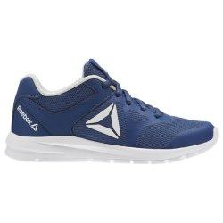Reebok Boy's Rush Runner Running Shoes - Bunker Blue steel white