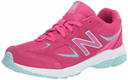 New Balance Kid's 888 V2 Lace-up Running Shoe Exhuberant Pink 6.5 W Us Toddler