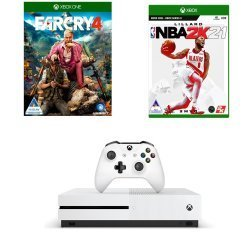 Xbox One S 1TB Plus Gta V Plus Black Ops 4