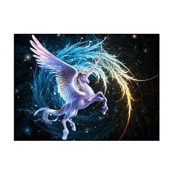 UEB Pegasus 5D Diamond Diy Painting Craft Home Decor 15.611.7INCH