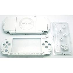 Gametown New Replacement Sony Psp 1000 Full Housing Shell Cover With Buttons Set -white.