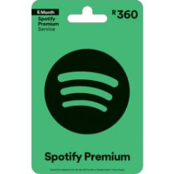 Digital Code Spotify Voucher R360