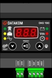 Battery DKG-190 Charge Controller Datakom Synchronization Units