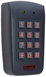 Dynalock 7400 Stand Alone Digital Keypad Single Gang Box Mounting 3X 4 Matrix Keypad