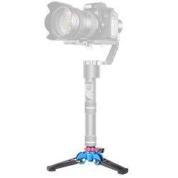 Neewer Foldable Tripod Monopod Stand Base Three Feet Support With 1 4 Inch Screw For Dslr Camera Monopod Zhiyun Crane V2 Crane M smooth Q smooth 3