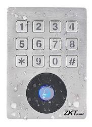 ZKTeco CO.,LTD Access Control Keypad System Weatherproof 125KHZ Rfid Em Id Card Wiegend 26 Single-door Stand-alone Control Kepad