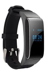 Bluetooth Smart Bracelet Headset Earphone Smartwatch Waterproof Touch Screen Fitness Tracker Pedomet