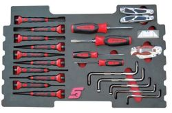21PC Screwdriver & Punch Set Plus For Kmc All Weather Top Chest