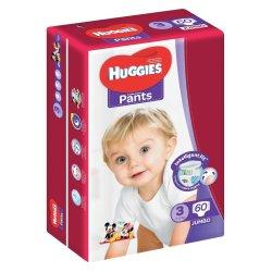 Huggies 60 Nappy Pants Size 3 Jumbo Pack