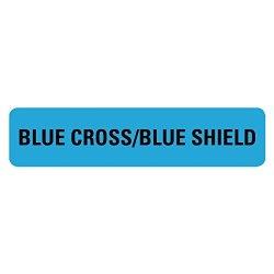 Blue Cross Blue Shield Medical Labels LV-MRL2