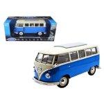 Volkswagen 1962 Vw Micro Bus 1 18 Blue