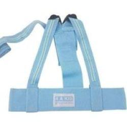 4AKID Harness Blue Stripes