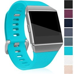 Maledan Replacement Bands For Fitbit Ionic Teal Large
