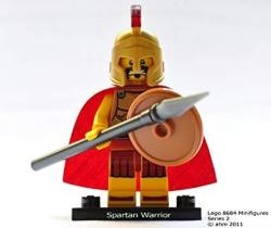 Lego - Minifigures Series 2 - Spartan Warrior