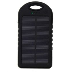 Rugged 5000mAh Solar Charger Power Bank
