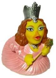 USA Celebriducks The Wizard Of Oz Glinda The Good Witch Rubber Duck Bath Toy