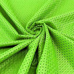 "Pico Textiles Neon Green Football Mesh Jersey Fabric - 60"" Wide - Style 734711"