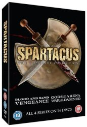 Spartacus: The Complete Collection Dvd