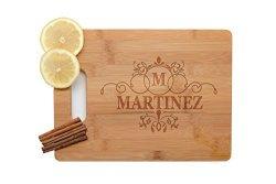 Krezy Case Handmade Kitchen Decor Personalized Cutting Board Wedding Gift Laser Engraved Wooden Cutting Board