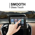 2015-2018 Nissan Murano NissanConnect Car Navigation Screen Protector Center Touch Screen Protector Anti Scratch High Clarity Clear HD Tempered Glass Screen Protector 8-Inch