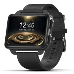 Domino DM99 Smart Watch Phone 1GB+16GB 2.2 Inch Android 5.1 MTK6580 Quad Core 1.3GHZ Network: 3G 1.3MP Camera Heart Rate Pedometer Gps Wifi Bluetooth Black