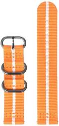 Samsung Electronics GP-R600BREECAG Gear Sport Premium Nato Band 20MM - Orange-white