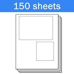 OfficeSmartLabels Usps Click-n-ship With Receipt Shipping Labels For Laser & Inkjet Printers 2 Per Sheet White 200 Labels 150 Sheets