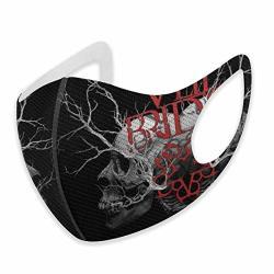 Hjhlbb Black Veil BRIDES11 Face Facial Features Masks S Black