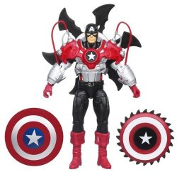 Hasbro Marvel Captain America With Spinning Shield