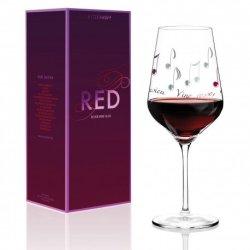 Red Wine Glass Design - Angela Schiewer - Autumn 2016