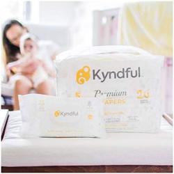 1-MONTH Bundle Kyndful Organic Diapers + Baby Wipes 11-22 ...