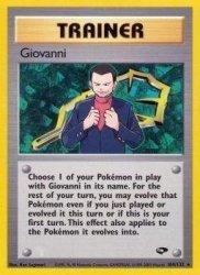 Pokemon USA, Inc. Pokemon - Giovanni 104 - Gym Challenge