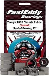 USA Tamiya TA06 Chassis Rubber Ceramic Sealed Bearing Kit