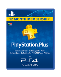 Playstation Network Card Plus 365 Day PS4 PS3 PSP PS Vita