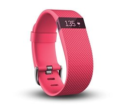 Fitbit Charge HR Wireless Activity Wristband Pink Small 5.4 - 6.2 In