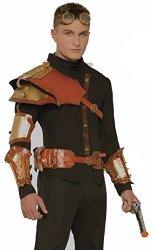STEAMPUNK 75194 Wrist Armor Gauntlets
