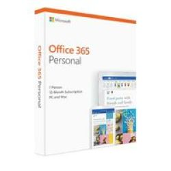 Microsoft Office 365 Personal MEDIALESS1 Year 1 User
