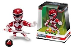 "New Jada Jada 4"" Metalfigs - Power Rangers - Red Ranger M334 99270"