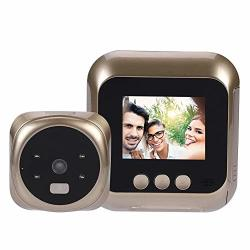 Electronic Door Viewer Magt 2.4 Inch HD Screen Display Home Smart Doorbell Security Camera Electronic Door Viewer