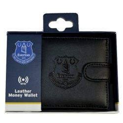 Everton - Club Crest Rfid Embossed Leather Wallet