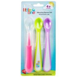 Little One 3PK Weaning Spoon Set