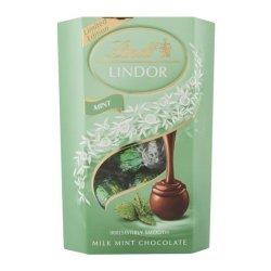 LINDT LINDOR Truffles Cornet 200G Milk Mint