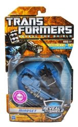 """Hasbro Year 2010 Transformers """"reveal The Shield"""" Series Deluxe Class 6 Inch Tall Robot Action Figure - Mindset With Missile Launcher And 8 Firing"""